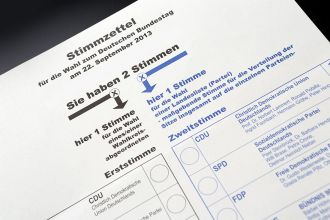 Tim Reckmann  / pixelio.de (Copyright)  Wahlen election Wahlzettel