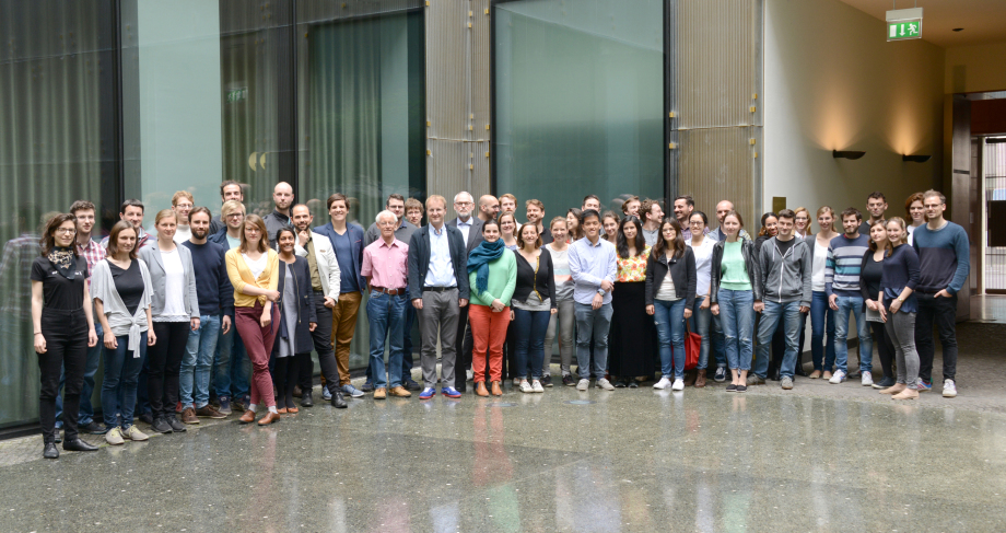 DIW Berlin Graduate Center doctoral students and staff